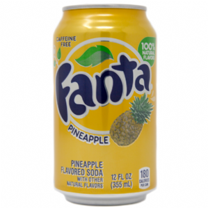 Fanta Pineapple Soda
